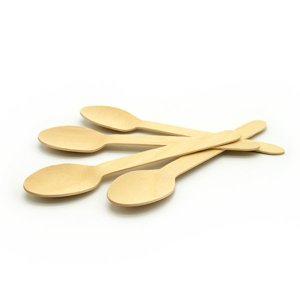 Disposable wooden spoons for sale online in Dubai