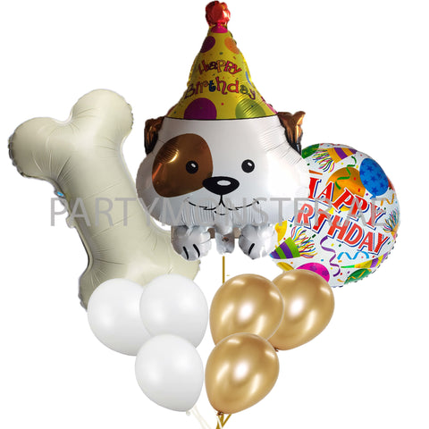 Doggy Love birthday balloons bouquet - PartyMonster.ae