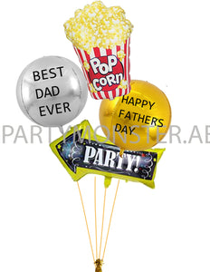Father's Day Party Balloons Bouquet for sale online in Dubai