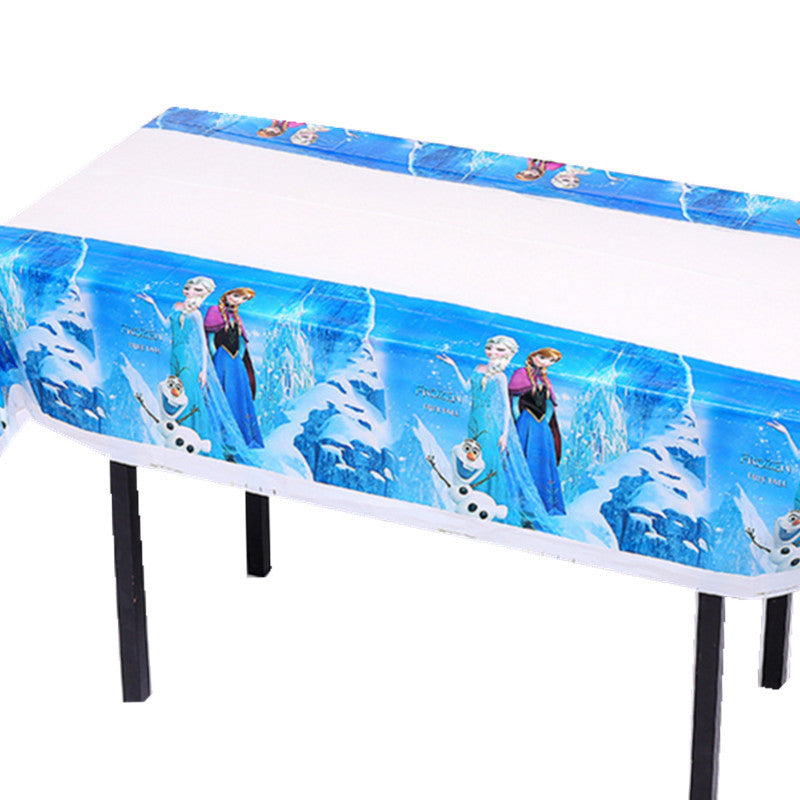 Frozen themed table cover - PartyMonster.ae