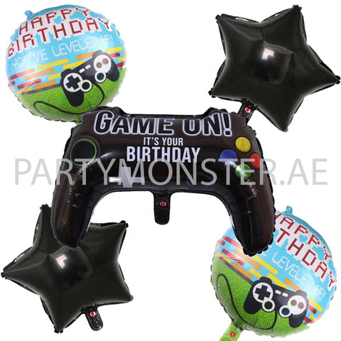 Game on birthday balloons for sale online in Dubai