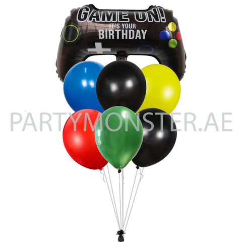 game on birthday balloons delivery all over Dubai