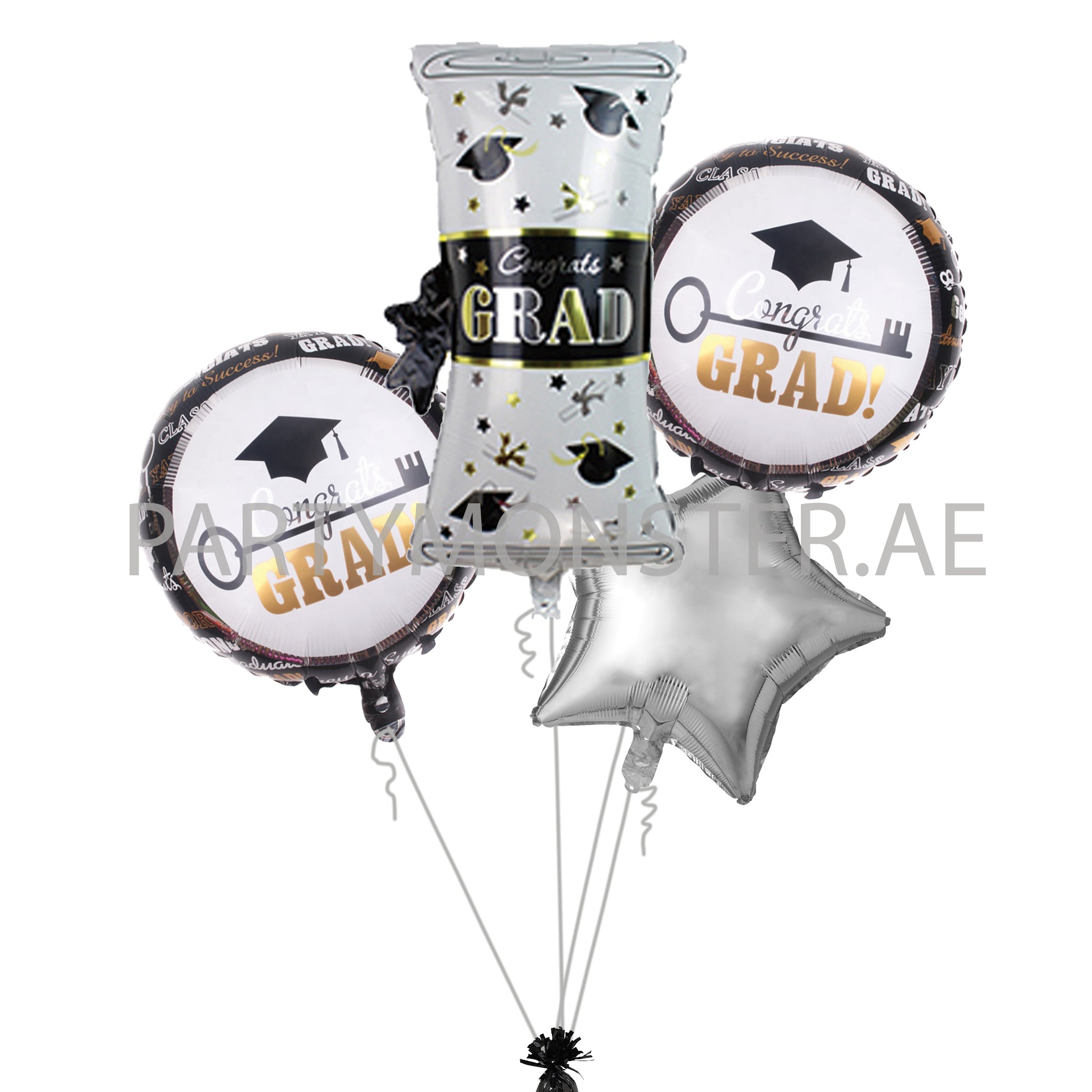 Graduation Balloons Bouquet