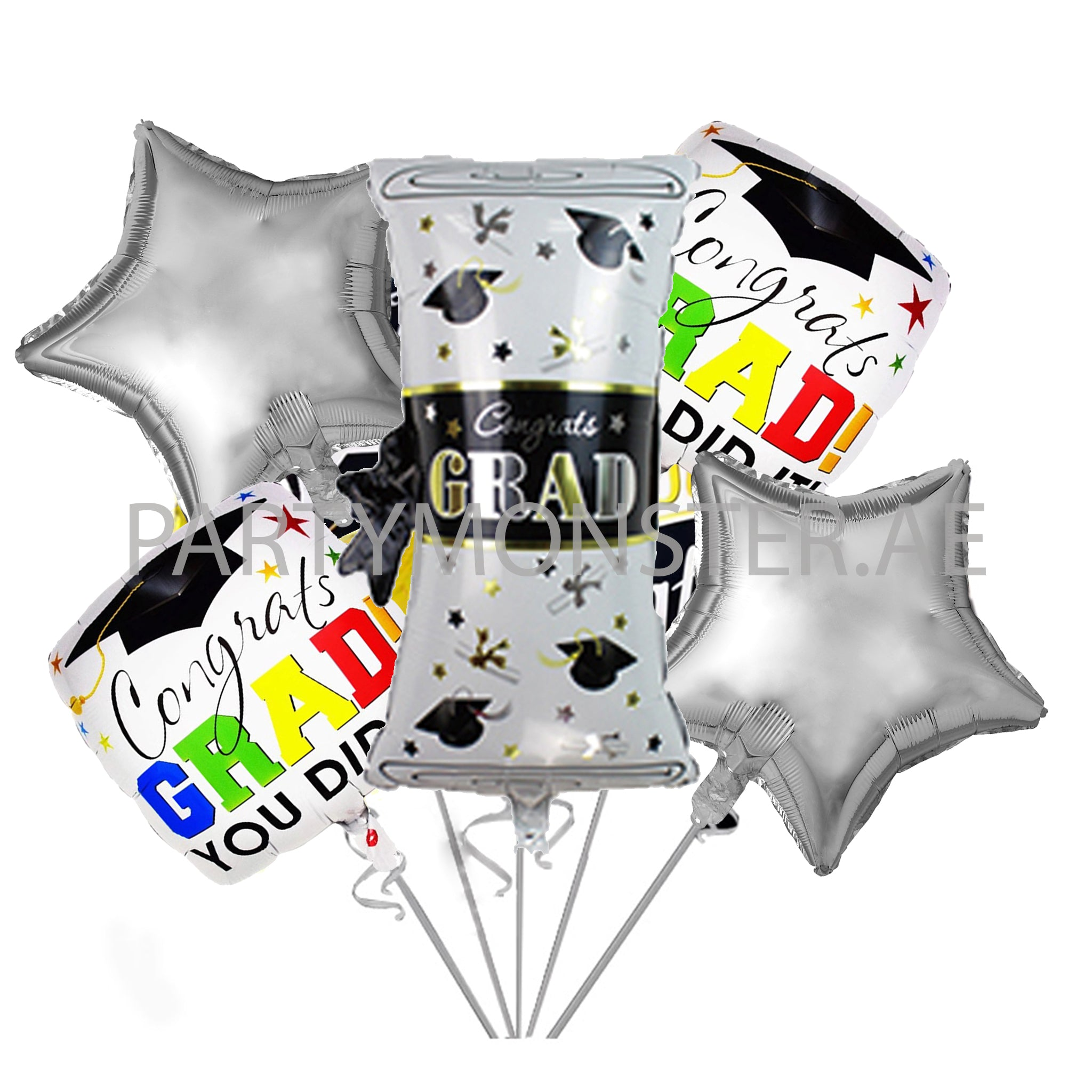 Graduation Degree Balloons Bouquet