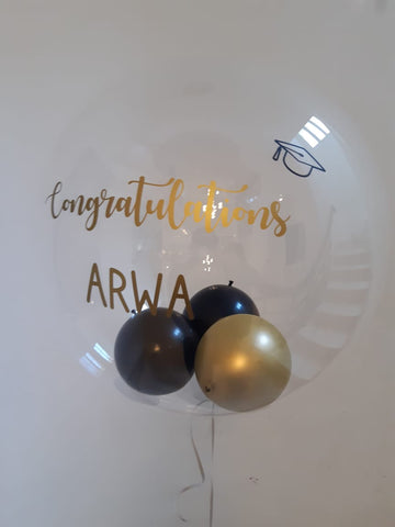 graduation customised balloon for sale online in Dubai'