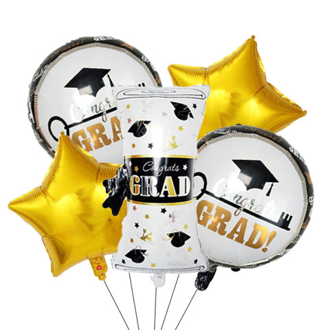 Graduation Degree Balloons Bouquet 02