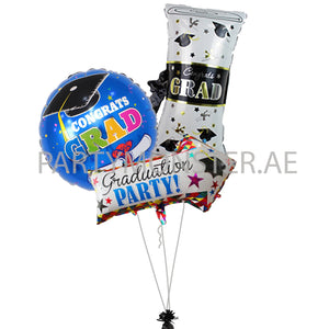 Graduation Party Balloons Bouquet