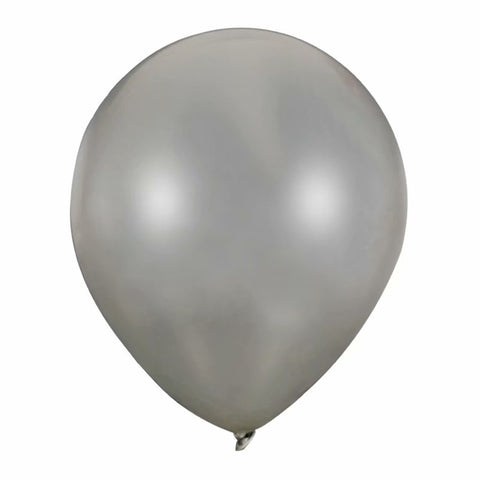 Grey latex balloon online delivery in Dubai