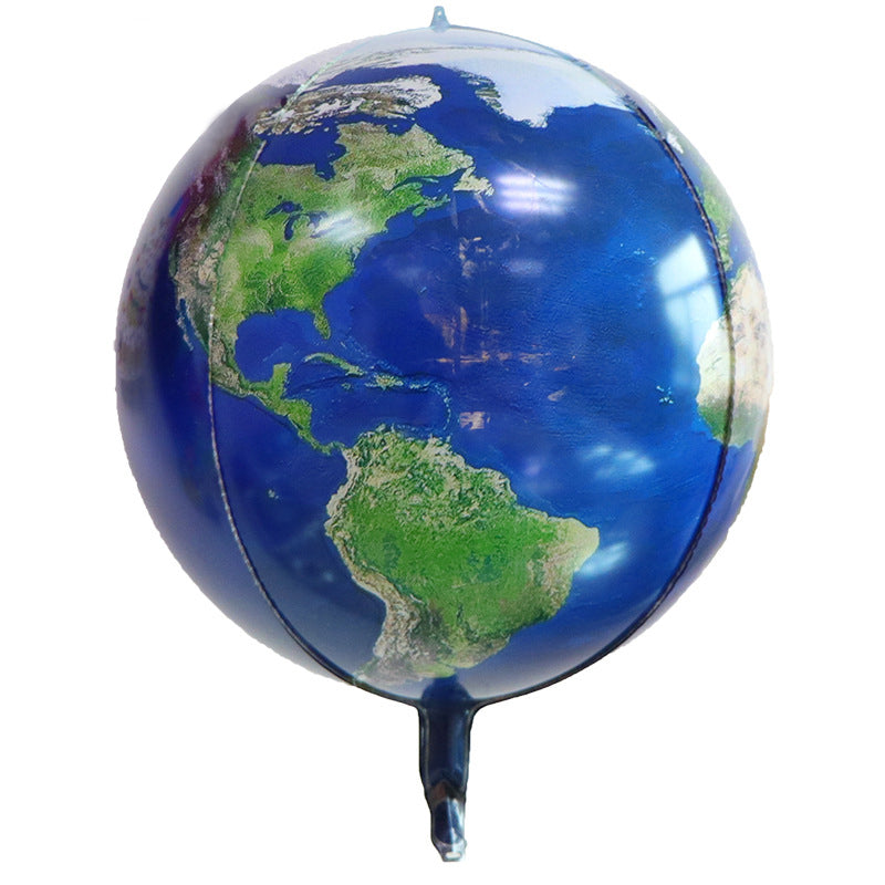 Earth Shaped Foil Balloon - Round 24 inches balloon for sale  online in Dubai