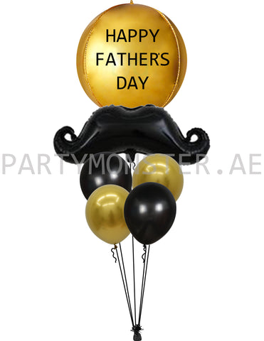 happy father's day balloons delivery in Dubai