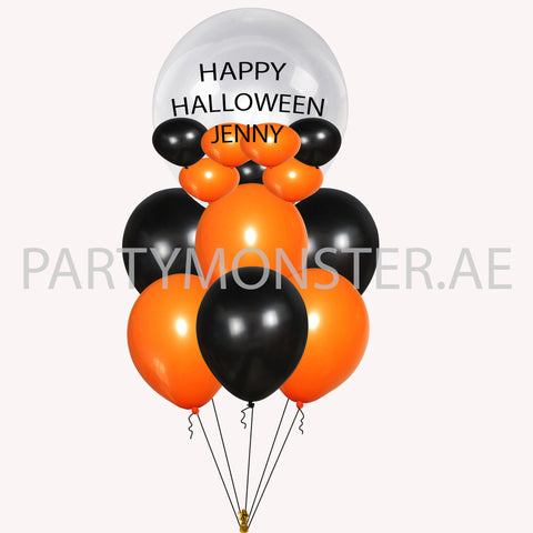 Happy Halloween Customized Balloons for sale online in Dubai
