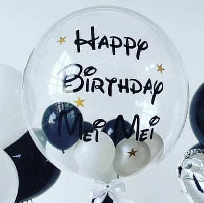 Any writing customised balloon 1 - PartyMonster.ae