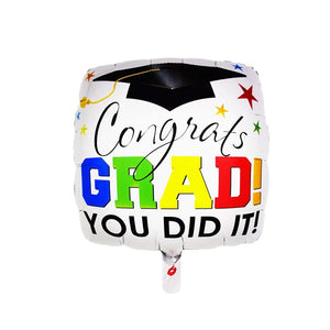 You Did It! Graduation Foil Balloons Delivery in Dubai