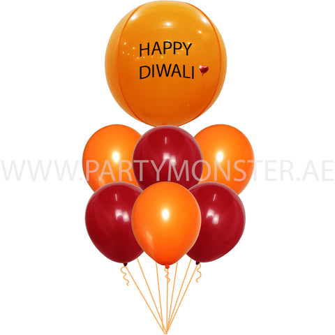 Happy Diwali balloons for sale online in Dubai