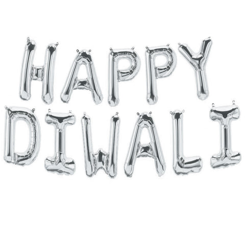 Happy diwali letter balloons for sale online in Dubai