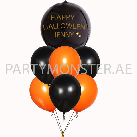 customized halloween balloons for sale online in Dubai