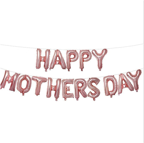 Happy Mother's Day balloons bunting - Air filled