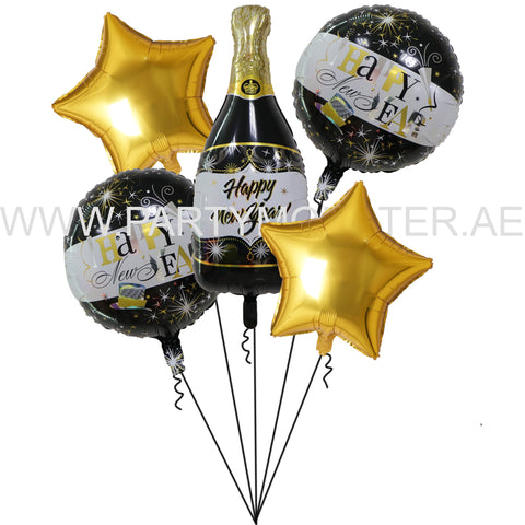 happy new year foil balloons for sale online in Dubai