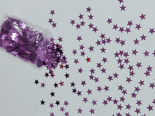 hot pink stars shaped foil confetti for sale online in Dubai