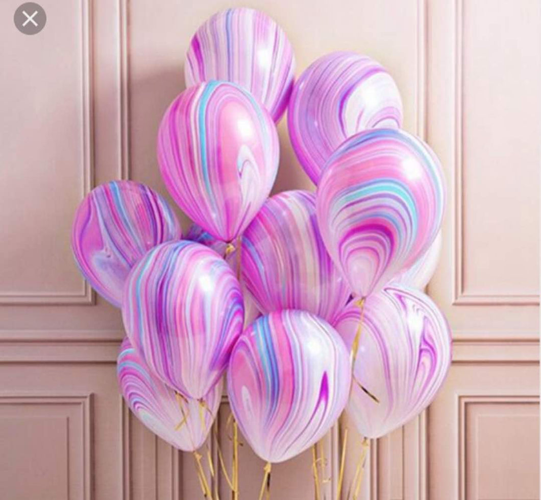 Multicolored 12in Latex Balloon - PartyMonster.ae