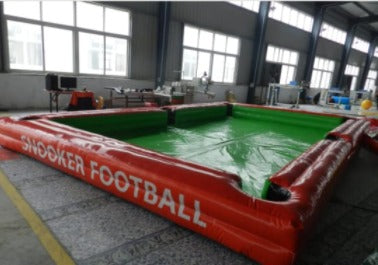 snooker football inflatable - partymonster.ae