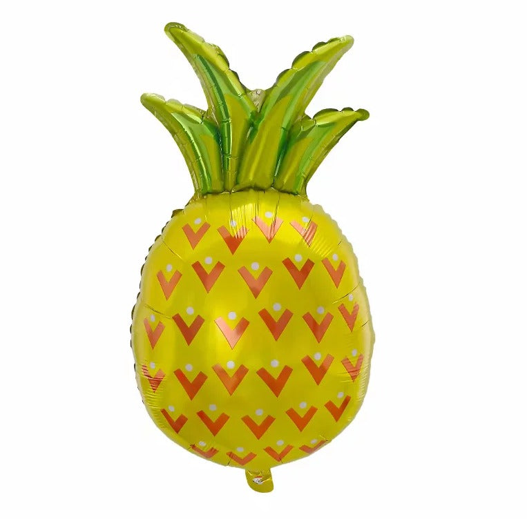 Pineapple Shaped Foil Balloon - 31in - PartyMonster.ae
