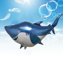 Blue Shark Foil Balloon - 32in - PartyMonster.ae