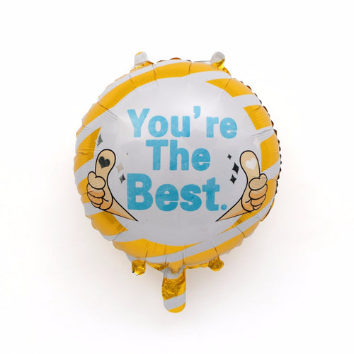 you are the best foil balloon