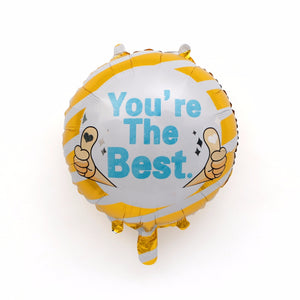 You're the Best Foil Balloon - 18in - PartyMonster.ae