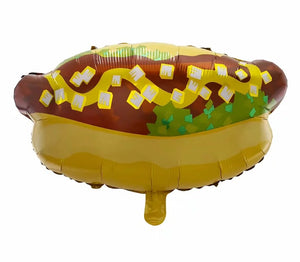 Hot Dog Foil Balloon - 22in - PartyMonster.ae