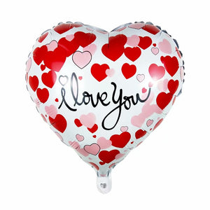 I Love You Hearts Balloon - 18in - PartyMonster.ae
