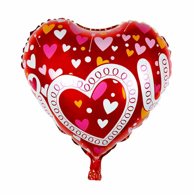 I Love You Heart Balloon - 18in - PartyMonster.ae