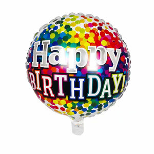 Sparkles Happy Birthday Foil Balloon - 18in - PartyMonster.ae