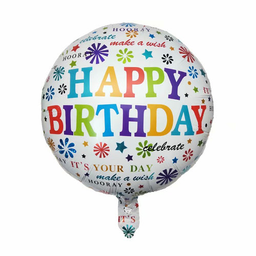 Birthday Quotes Foil Balloon - 18in - PartyMonster.ae
