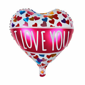 i love you foil balloon
