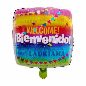Welcome Foil Balloon - 18in - PartyMonster.ae