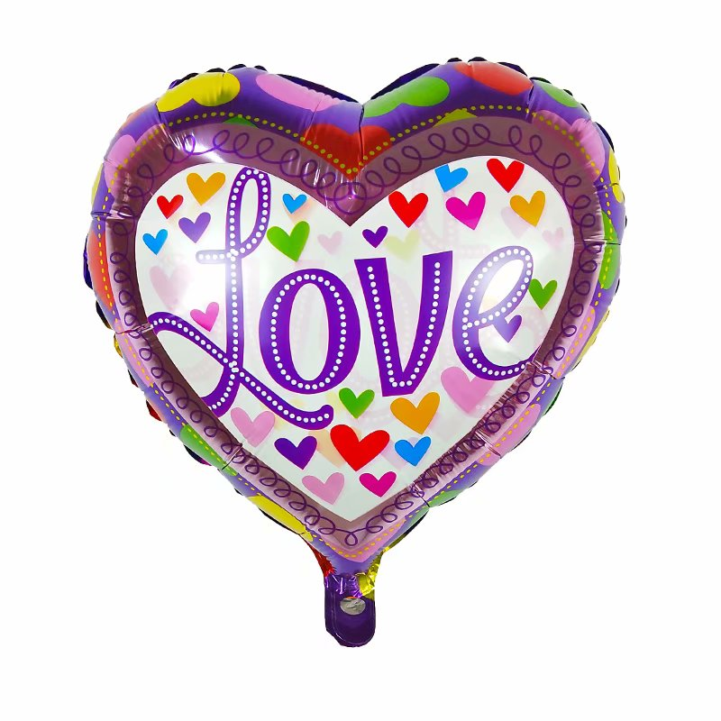 love heart shaped balloon