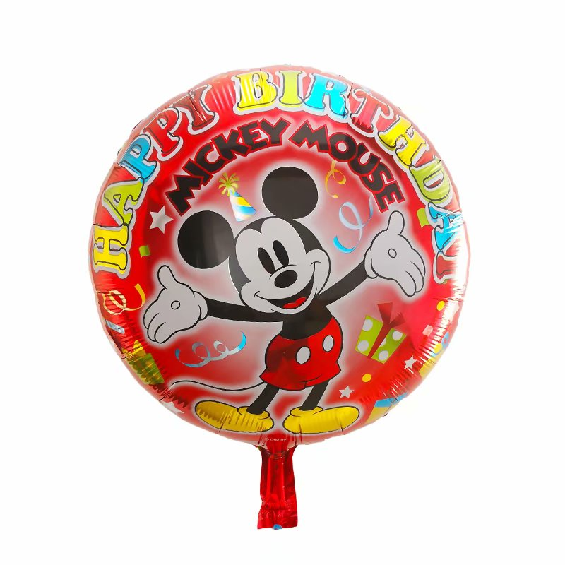 Mickey Mouse Happy Birthday Balloon - 18in - PartyMonster.ae