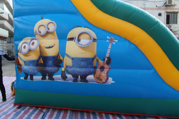 Minion Inflatable Slide - 6m - PartyMonster.ae