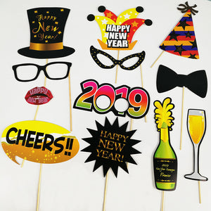 new year props set