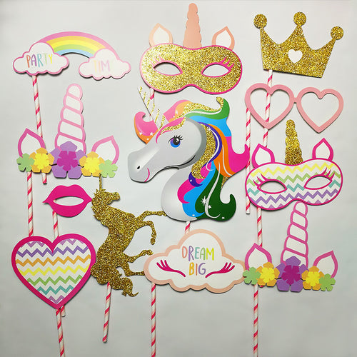 Props Set Unicorn Theme Theme - PartyMonster.ae