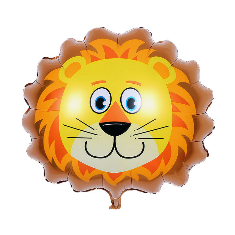 Lion Foil Balloon - 25in - PartyMonster.ae