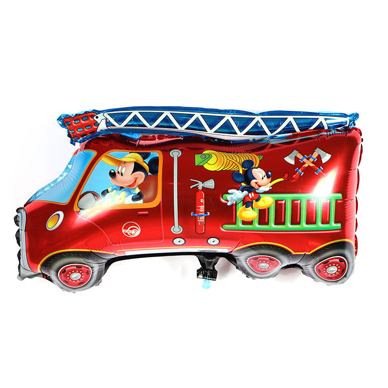 Mickey Mouse Club House Fire Truck - 28in - PartyMonster.ae