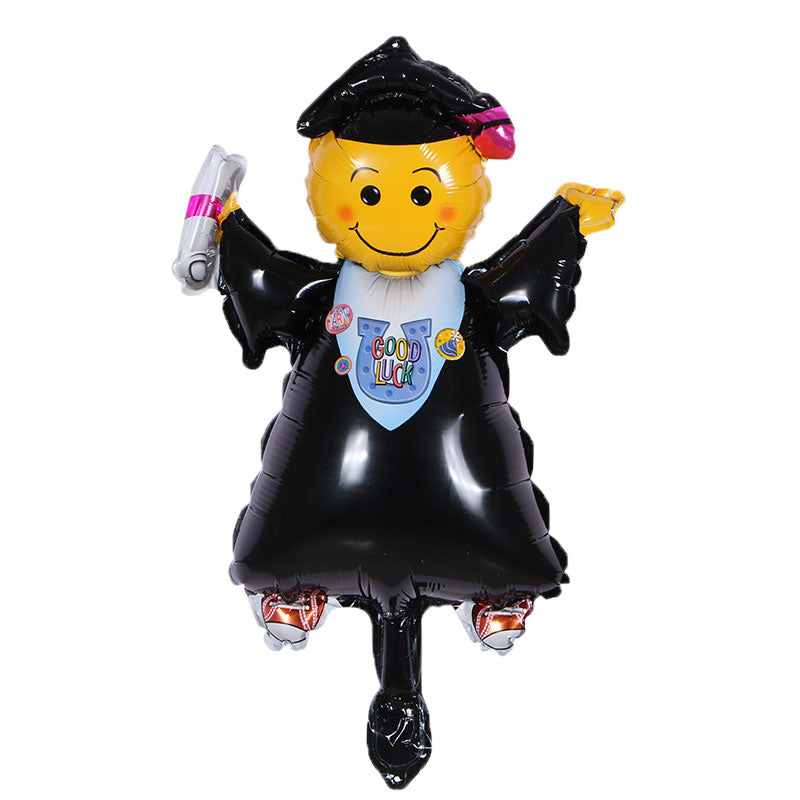 Graduate Foil Balloon - 20in - PartyMonster.ae