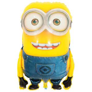 Big Size Minion Foil Balloon - 36in - PartyMonster.ae