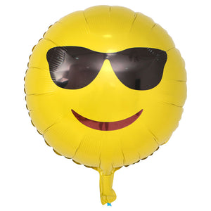 Emoji Sunglasses Balloon