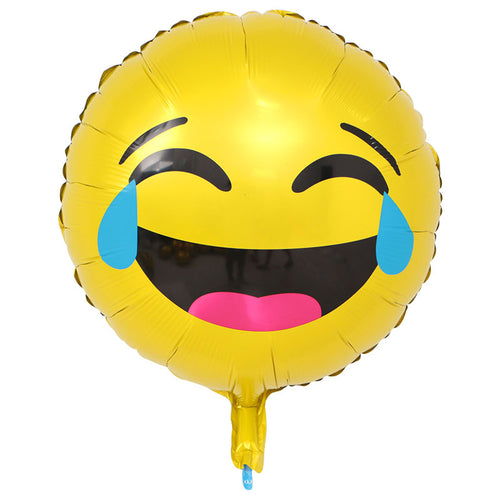 Laugh out loud tears emoji balloon