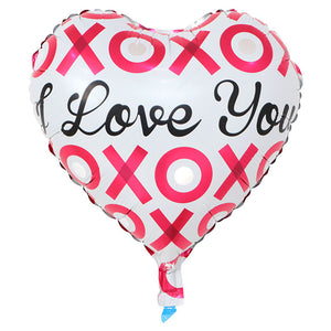 I Love You XOXO (Heart Shape) - 18in - PartyMonster.ae