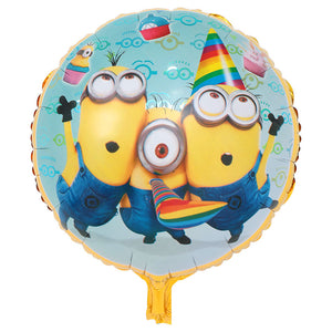 Minion Trio Party Foil Balloon - 18in - PartyMonster.ae