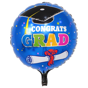 Graduation Foil Balloon - 18in - PartyMonster.ae